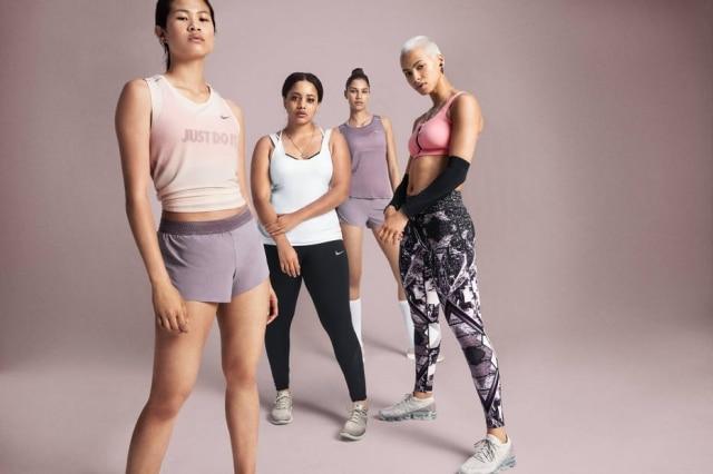 Campanha da coleção Chrome Blush