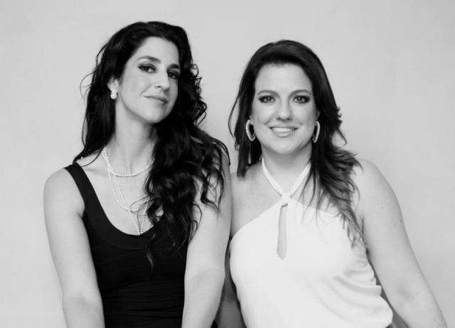 As autoras do projeto Fernanda Negrelli e Andrea Teixeira