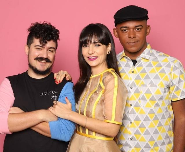 'Credo, que Delícia!' é comandado por Dani Noce, ao lado de Paulo Cuenca e Michael Levine.