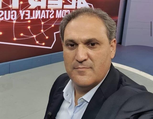 Stanley Gusman era apresentador da TV Alterosa, em Minas Gerais, e morreu em decorrência da covid-19