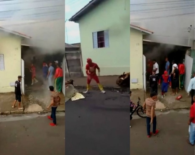 Carreta Furacão salva família de incêndio e já são os mais novos heróis da internet brasileira.