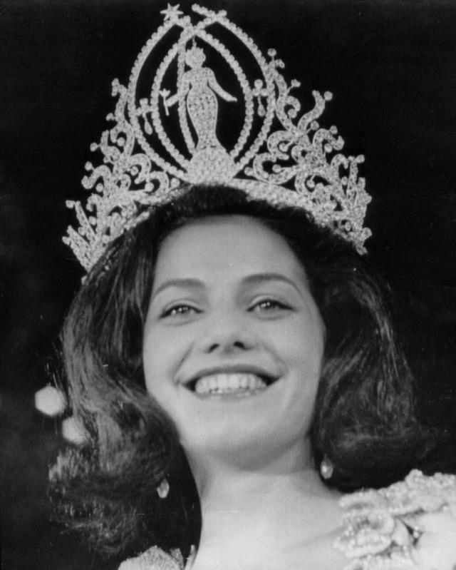 Ieda Maria Vargas, a Miss Brasil 1963.
