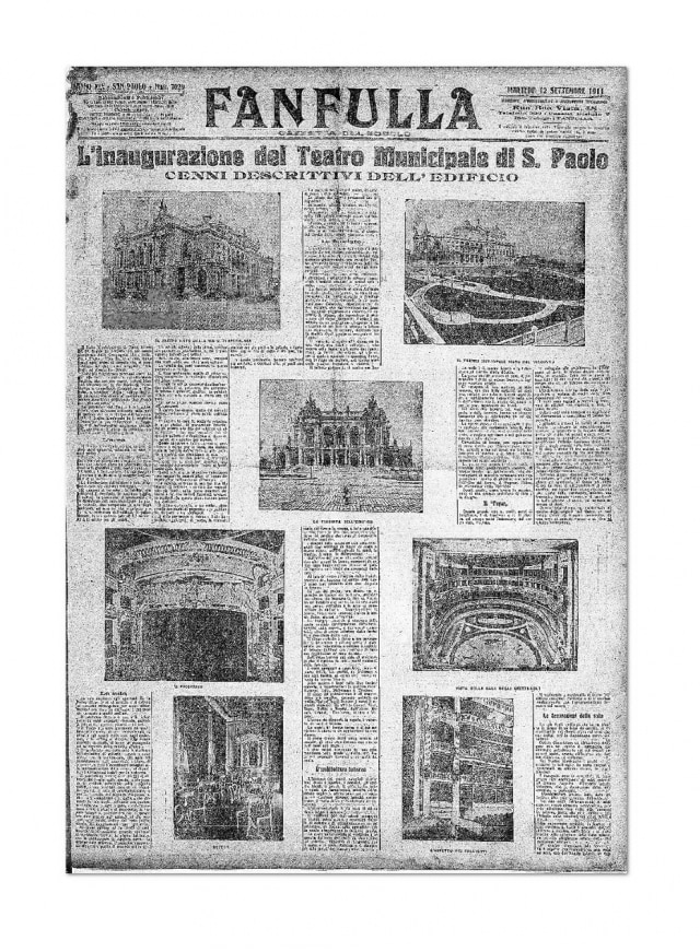 Inauguração do Teatro Municipal - 12/9/1911