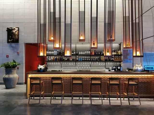 Ambiente do bar do novo restaurante Dasian