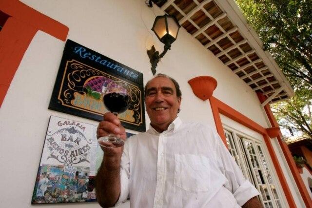 Chef argentino Hugo Ibarzábal
