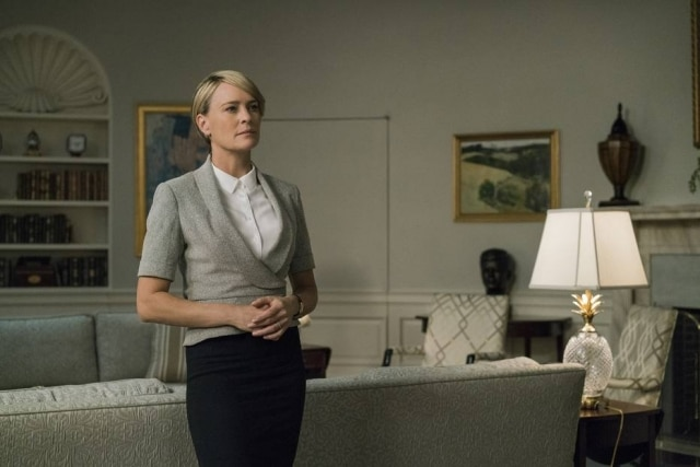 Claire Underwood protagoniza a nova temporada de 'House of Cards'
