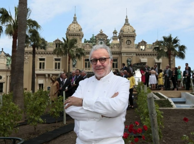 Alain Ducasse, um dos grandes pilares da gastronomia francesa