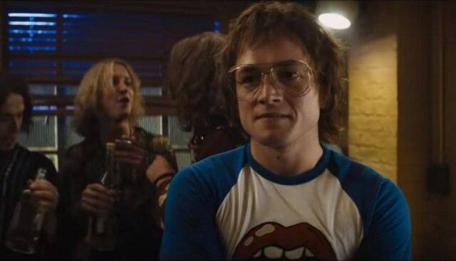 Taron Egerton como Elton John em 'Rocketman'