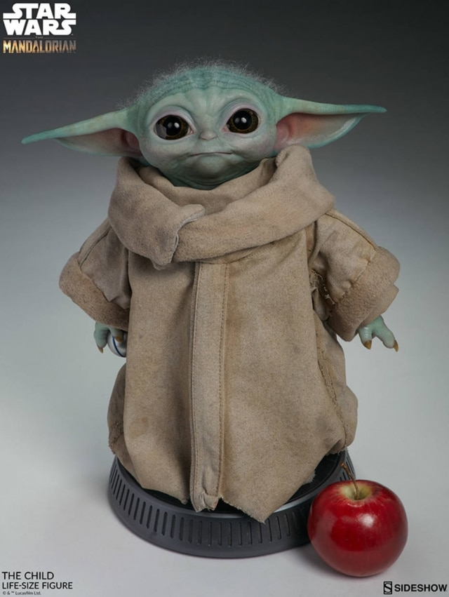 Boneco do Baby Yoda possui quase 42 centímetros de altura, e só será entregue no segundo semestre de 2020