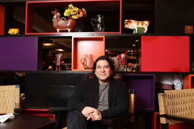 O chef peruano Gastón Acurio