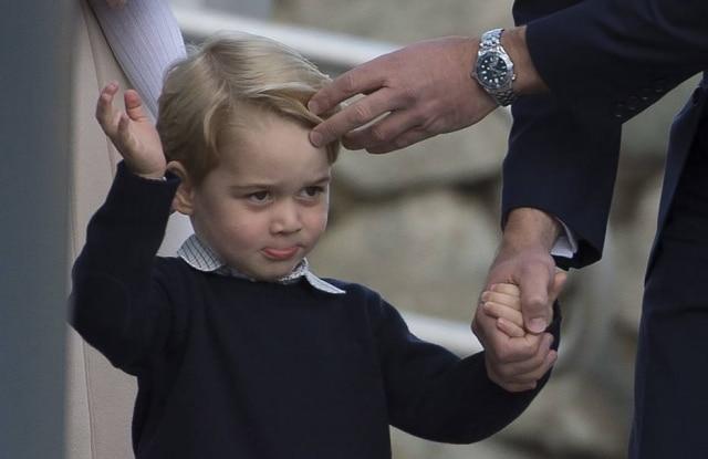 Princípe George, mais uma vez, foi o centro das atenções durante viagem oficial da família real ao Canadá