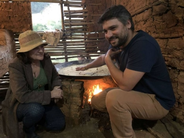 Mara Salles e Rafael Cardoso promovem cozinha caipira em eventos no Tordesilhas