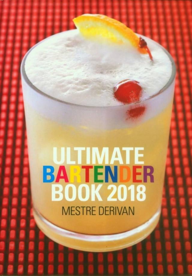 Livro de Derivan de Souza ensina sobre a preparação de drinques