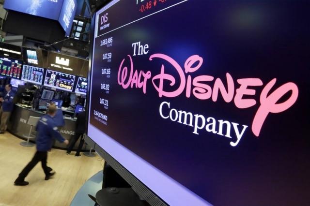 Logotipo da Walt Disney Company.