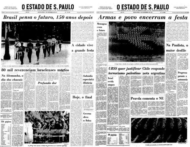 > Estadão -07/9/1972e08/9/1972