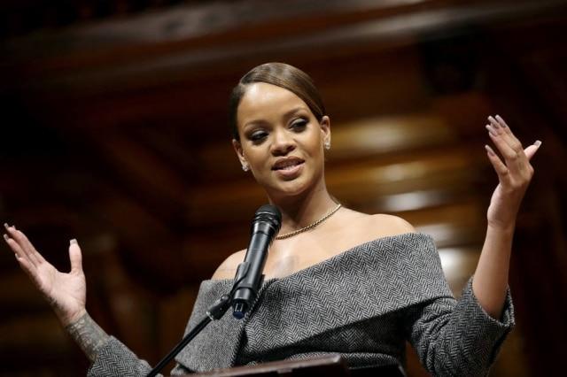 Rihanna é embaixadora da Global Partnership for Education