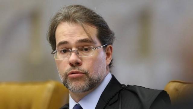 O presidente do STF, ministro Dias Toffoli