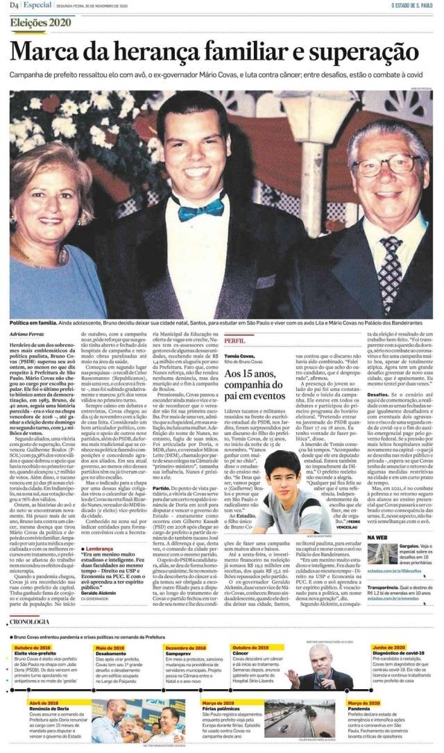 >> Estadão - 30/11/2020