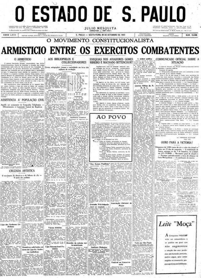 Estadão - 30/9/1932