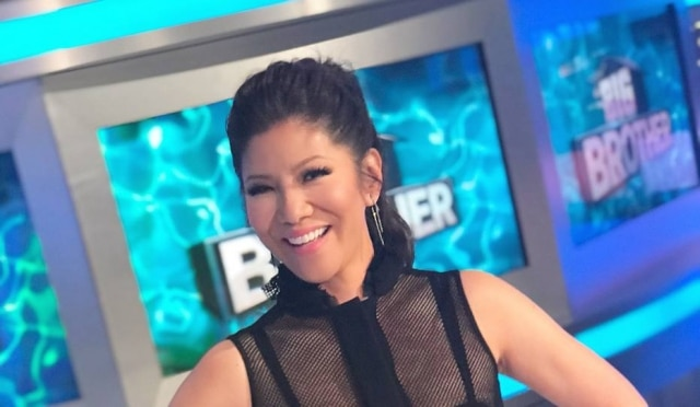 A apresentadora Julie Chen.