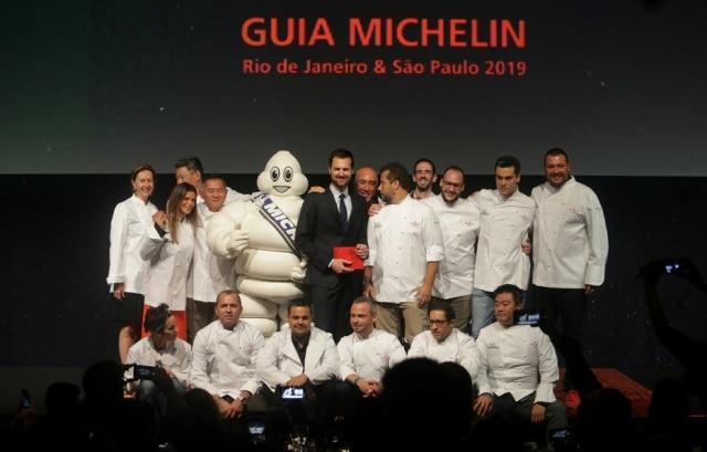 Chefs que conquistaram uma estrela Michelin na edição 2019.