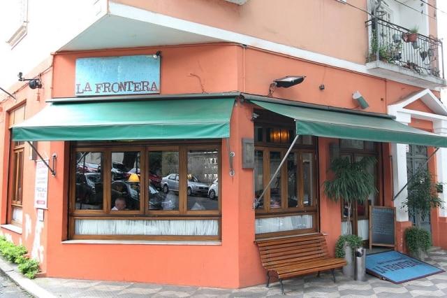 Fachada do La Frontera. O restaurante de Ana Maria Massochi foi dos primeiros a fechar as portas