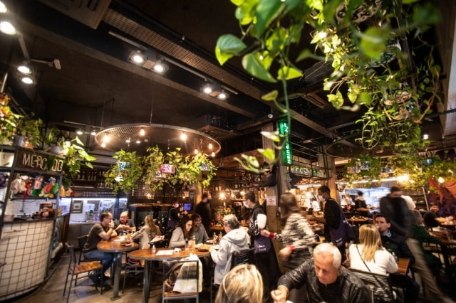 Ambiente d'A Casa do Porco, eleito o 17° melhor restaurante do mundo