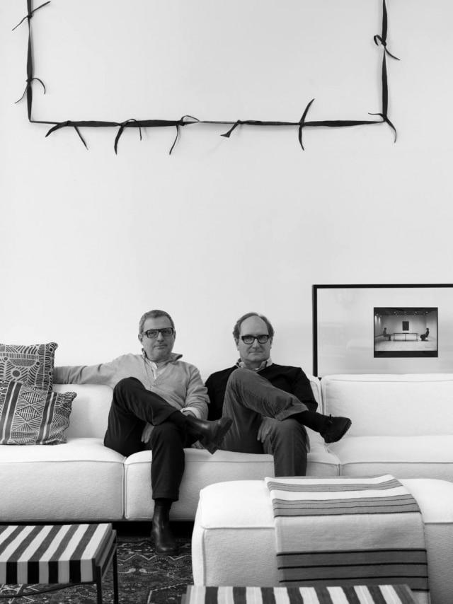 Os arquitetos Claudio Lazzarini e Carl Pickering
