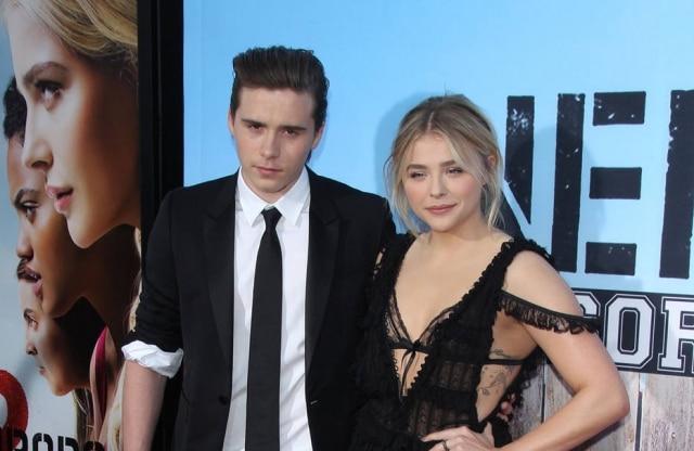 Executivos de TV acompanham o namoro de Brooklyn Beckham e a atriz Chloe Moretz