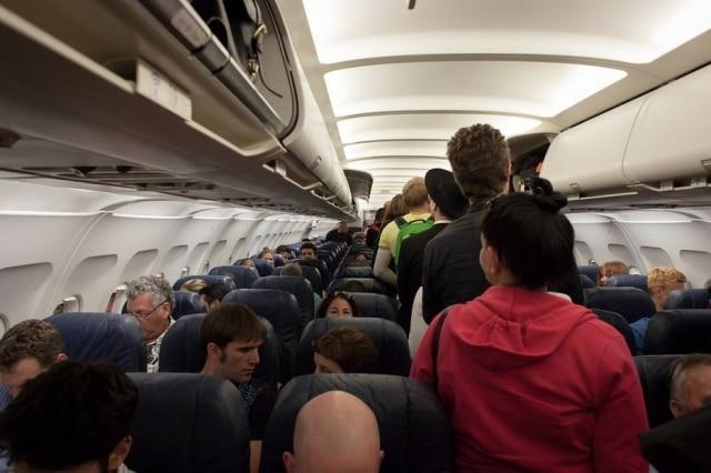 Estudo foi feito em dez voos intercontinentais (imagem ilustrativa)