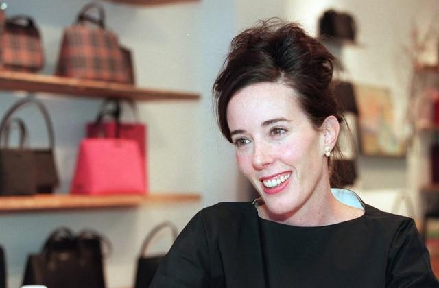 A estilista Kate Spade