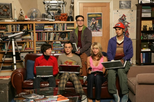 Cena de 'The Big Bang Theory'.