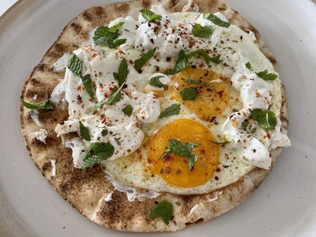 Ovos turcos para o café da manhã