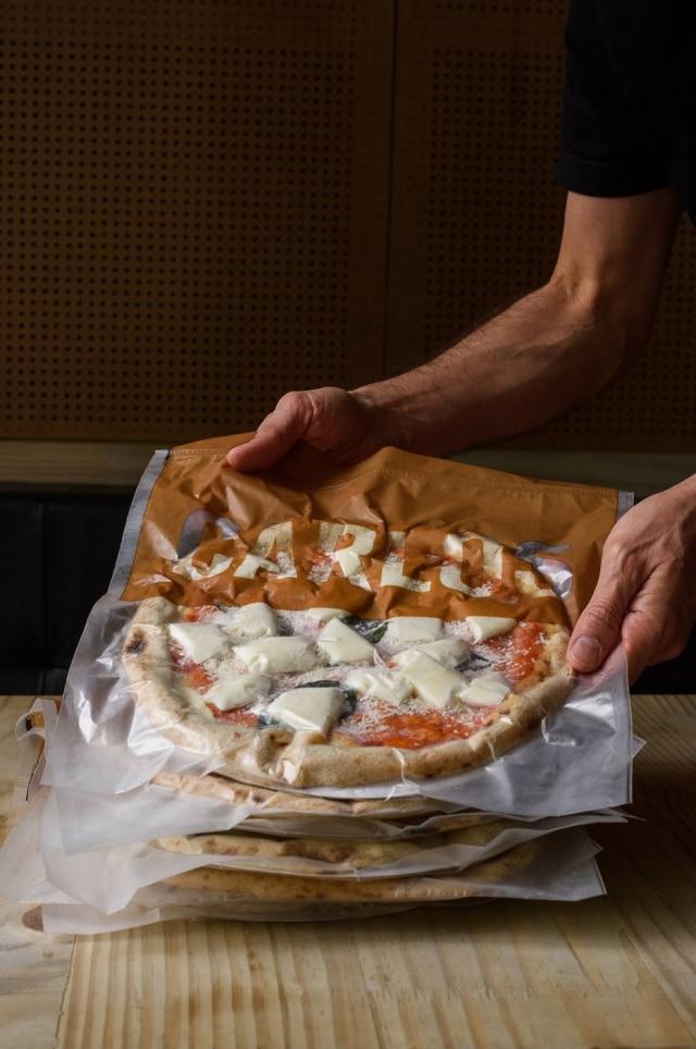 Pizza congelada da Carlos