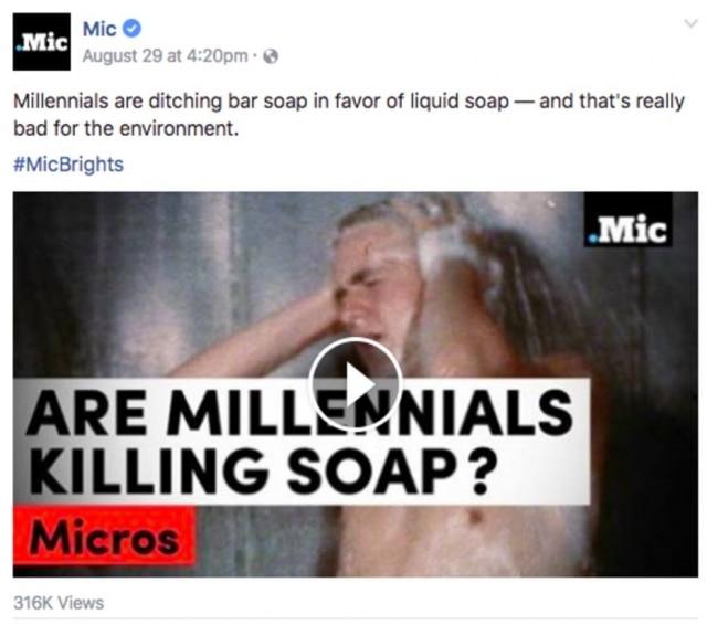 Millennials estão acabando com os sabonetes em barra, pois preferem os sabonetes líquidos - e isso é muito ruim para o meio ambiente.