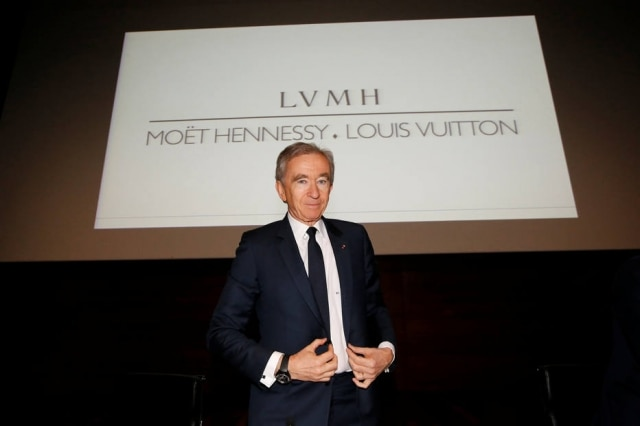 Bernard Arnault, CEO do grupo LVMH.