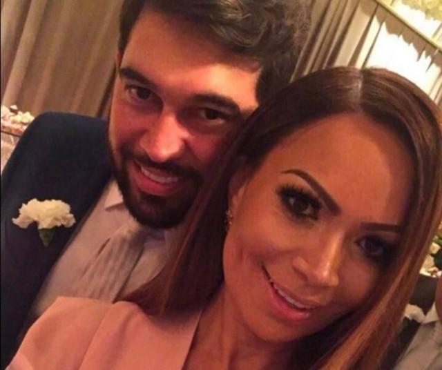 Solange Almeira e Leandro Andriani assumiram namoro em janeiro.