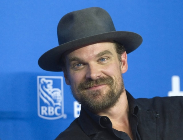 David Harbour, o cherife Jim Hopper de 'Stranger Things'.