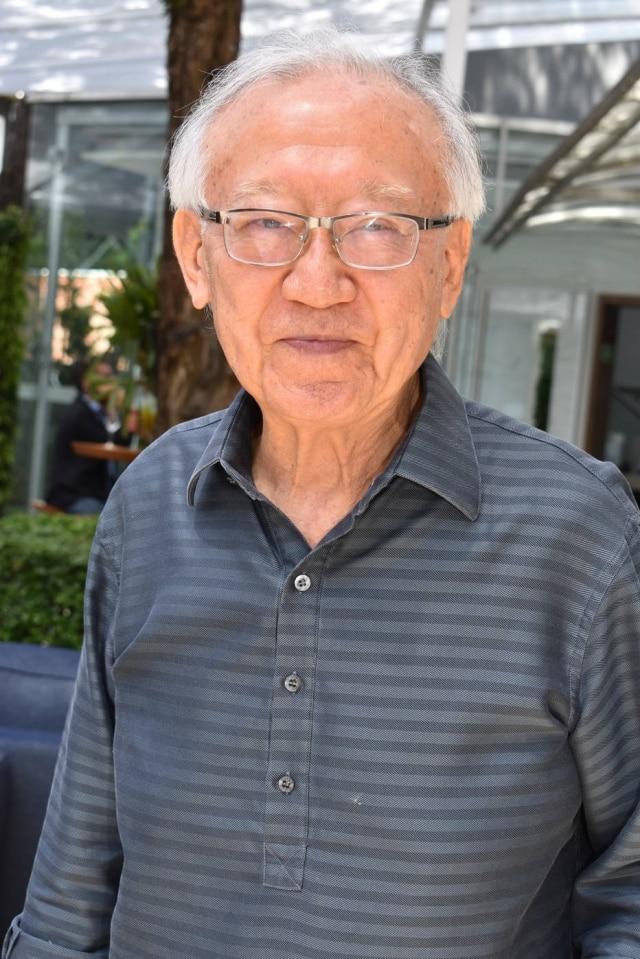 O arquiteto paulistano Ruy Ohtake