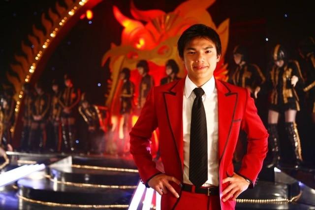 Jui Huang como Liu em 'Negócio da China'.