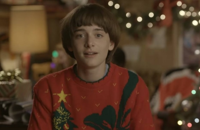 O personagem Will, de 'Stranger Things'.