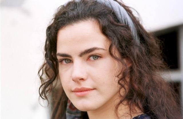 Ana Paula Arósio em foto de junho de 1999, durante as gravações da novela 'Terra Nostra'