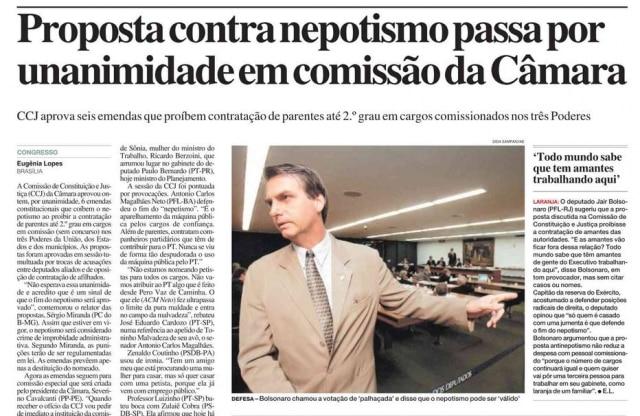 > Estadão - 14/4/2005