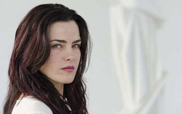 A atriz Ana Paula Arósio, que está no filme'A Floresta que se Move'