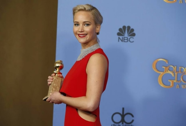 Jennifer Lawrence venceu o Oscar de Melhor Atriz em 2013 por 'O Lado Bom da Vida'