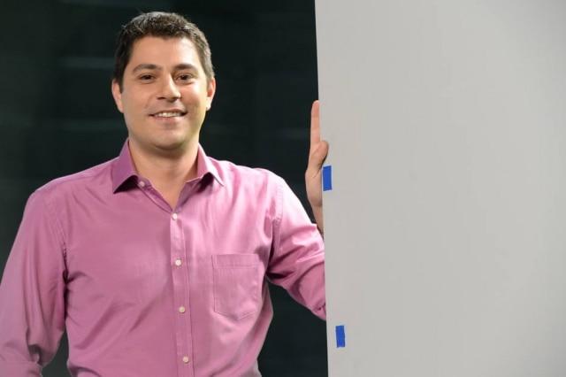 Evaristo Costa pode sair da Globo após o fim de seu contrato, em setembro.