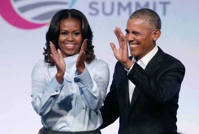 Michelle e Barack Obama assinaram acordo de produção de conteúdo para Netflix em 2018.