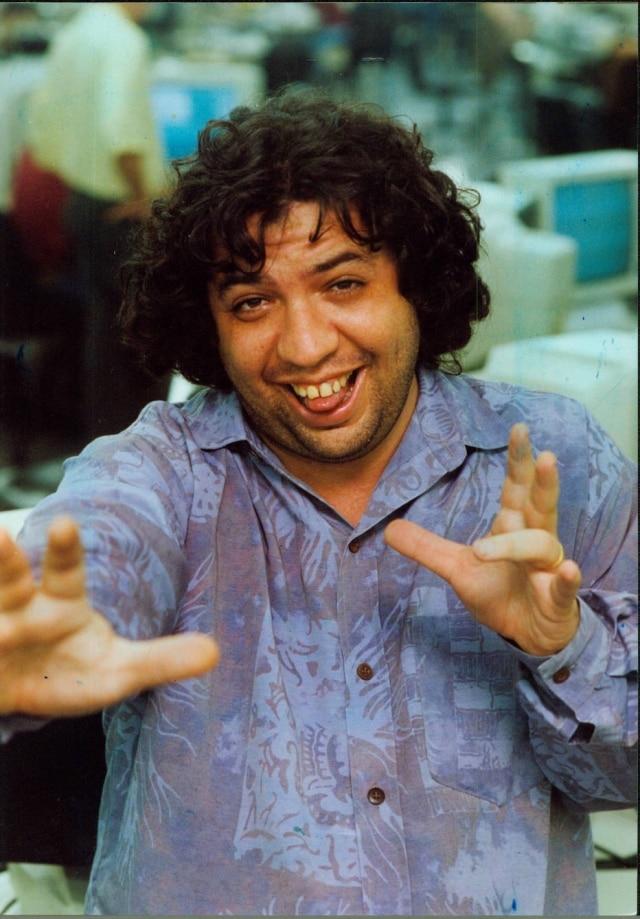 Humorista em foto tirada em setembro de 1993, próximo à data em que tornou-se colunista do 'Estado'.