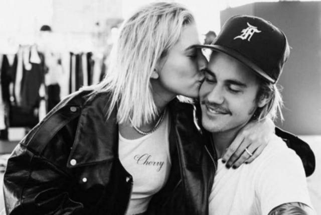 Justin Bieber e Hailey Baldwin.