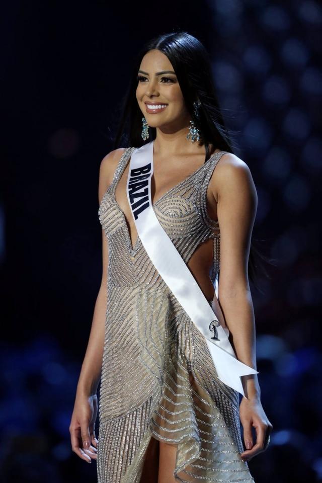 Miss Brasil 2018, Mayra Dias, ficou entre as 20 semifinalistas